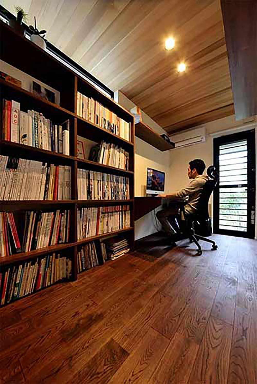 集中力の高まる書斎